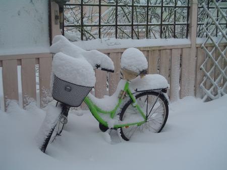 Cykeln får vänta