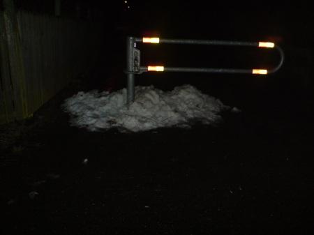 Detta kallas snö!