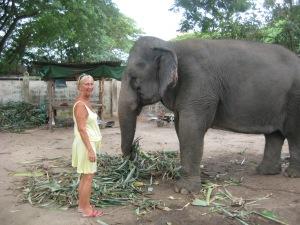 Rayong Thailand, mötte en kompis