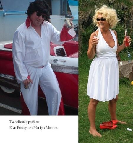 Elvis Presley och Marilyn Monroe
