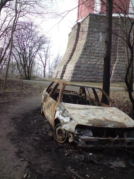 Utbränd bil