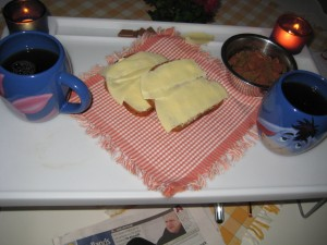 Min frukostbricka