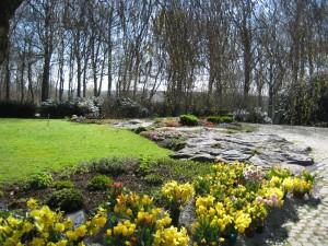 Minneslunden i Varbergs kyrkogård