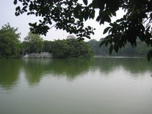 Lilla sjön i Hanoi