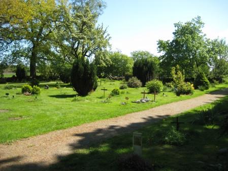 Djurkyrkogården i Vare, söder om Varberg
