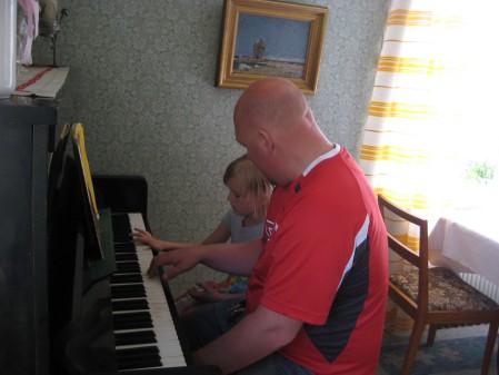 Pianoövningar