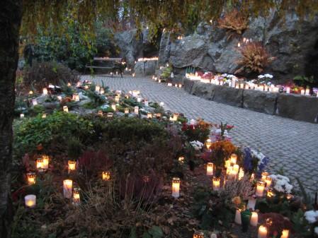 Sant Jörgens Kyrkogård i Varberg
