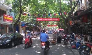 Stadsbild från Hanoi