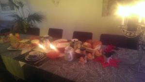 Julaftons frukost